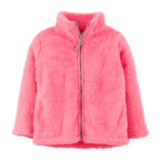 Carter's® Zip-Front Jacket – Girls 2t-4t