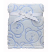 Soft and Silky Sculpted Bears Blanket