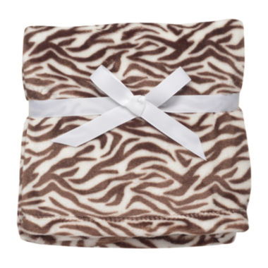 jcpenney.com | Soft and Silky Zebra Print Blanket