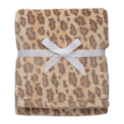 Soft and Silky Leopard Print Blanket