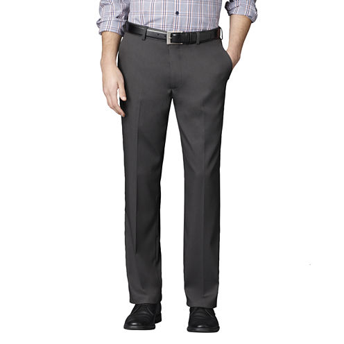 Men's Van Heusen® Straight Leg No-Iron Flat-Front Dress Pants