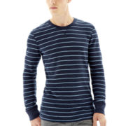Arizona Thin-Striped Thermal Tee