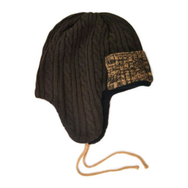 jcpenney.com | MUK LUKS® Cable Knit Trapper Hat