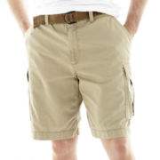 The Foundry Supply Co.™ Belted Cargo Shorts–Big & Tall