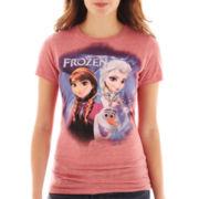 Juniors Disney Frozen Graphic Tee