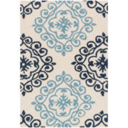 Haven Memory Foam Medallion Rectangular Rug