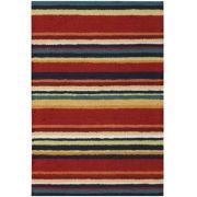 Nourison® Stripes Washable Rectangular Rug