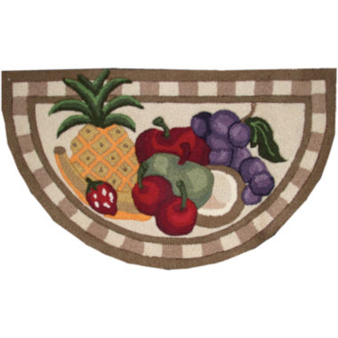 jcpenney.com | Nourison® Fruit Washable Wedge Rug