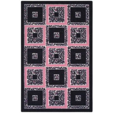 jcpenney.com | Leopard Blocks Rectangular Rug