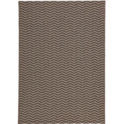 Stetson Chevron Sisal-Look Indoor/Outdoor Rectangular Rug