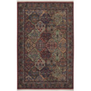 Karastan® Multi-Panel Kirman Wool Rectangular Rug