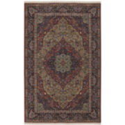 Karastan®  Medallion Kirman Wool Rectangular Rug