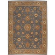 Karastan®  Bergama Smoke Wool Rectangular Rugs