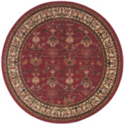 Karastan® William Morris Wool Round Rug