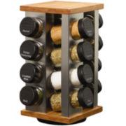 Kamenstein Warner 16-Jar Revolving Spice Rack