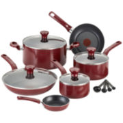 T-fal® Excite 14-pc. Aluminum Nonstick Cookware Set + $20 Mail-in Rebate