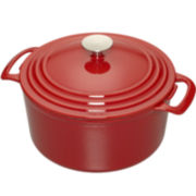 Cooks 3½-qt. Enameled Cast Iron Dutch Oven + $10 Mail-in Rebate