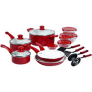 Basic Essentials™ 17-pc. Ceramic Cookware Set