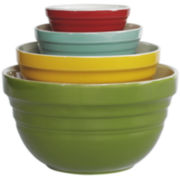 Tabletops Gallery 4-pc. Retro Mixing Bowl Set