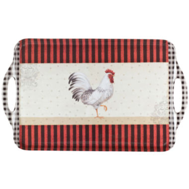 jcpenney.com | Portmeirion® Rooster Melamine Serving Tray