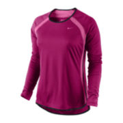 Nike® Fast Pace Long-Sleeve Base Layer
