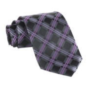 Stafford® Screech Plaid Tie