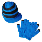 Berkshire Brim Hat and Glove Set - Boys One Size