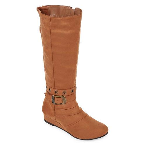 2 Lips Too Womens Dress Boots - Wide Calf