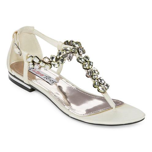 2 Lips Too Womens Flat Sandals