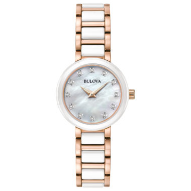 jcpenney.com | Bulova Womens Two Tone Bracelet Watch-98p160