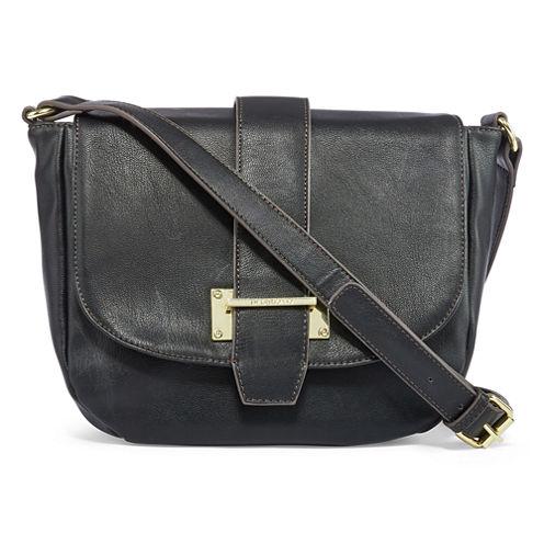 Liz Claiborne Alexis Flip Saddle Crossbody Bag