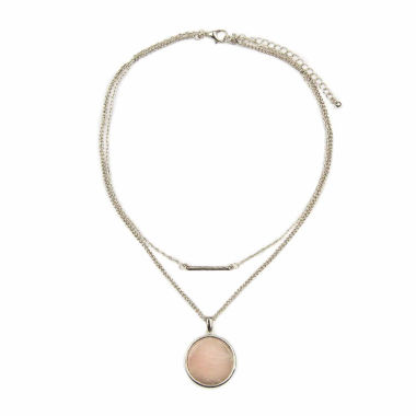 jcpenney.com | Arizona Pink Strand Necklace