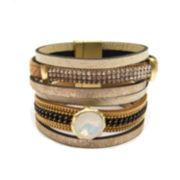 Arizona White Bangle Bracelet