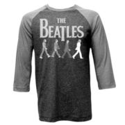 Beatles 3/4-Sleeve Raglan Tee