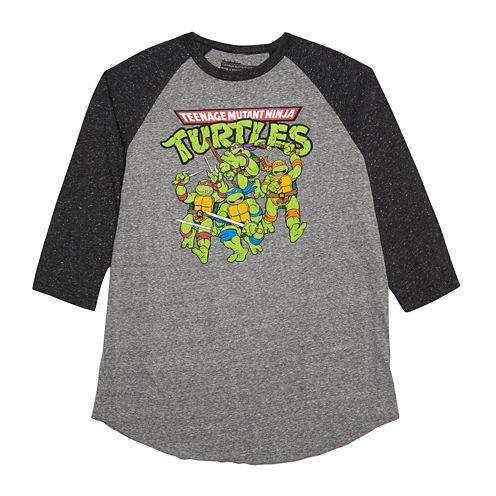 Teenage Mutant Ninja Turtles 3/4-Sleeve Raglan Shirt