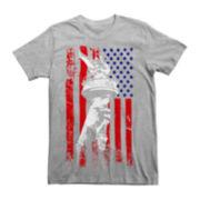 USA Flag Short-Sleeve Tee