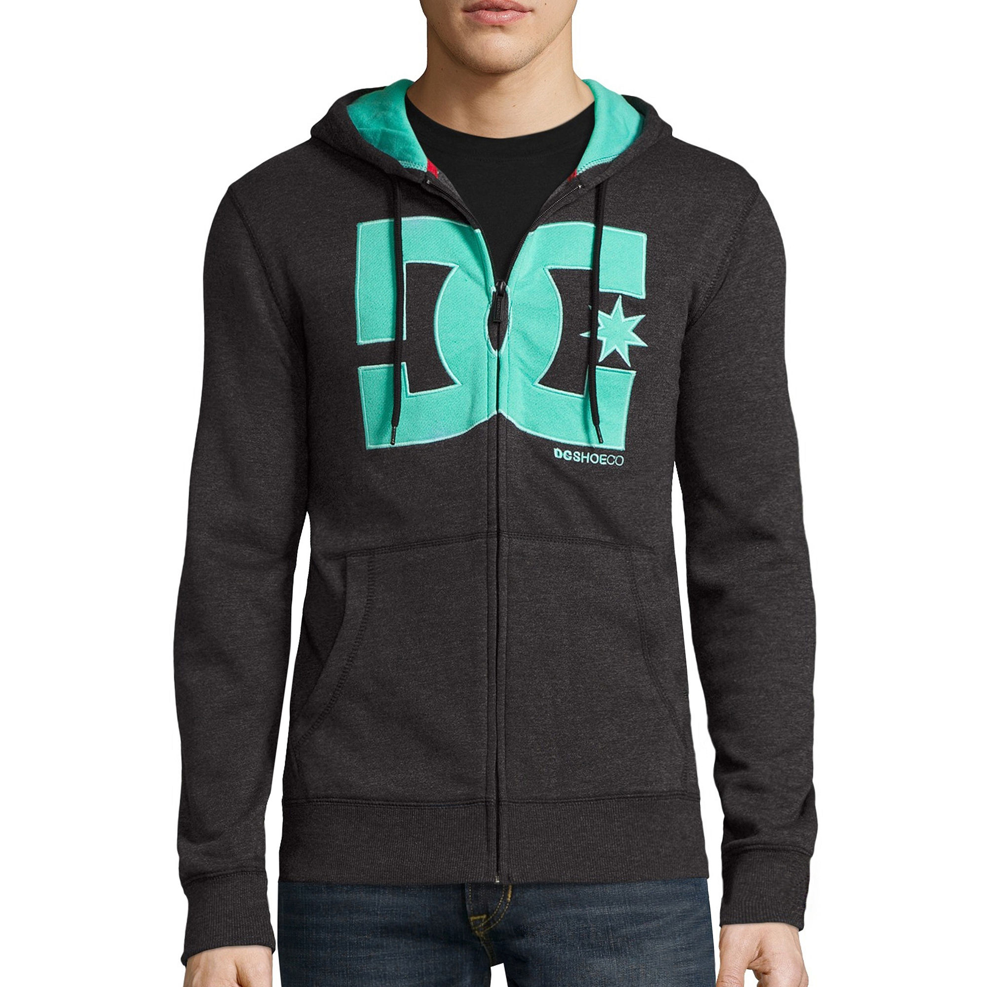 DC Shoes Co. Core T Star Long-Sleeve Front-Zip Hoodie