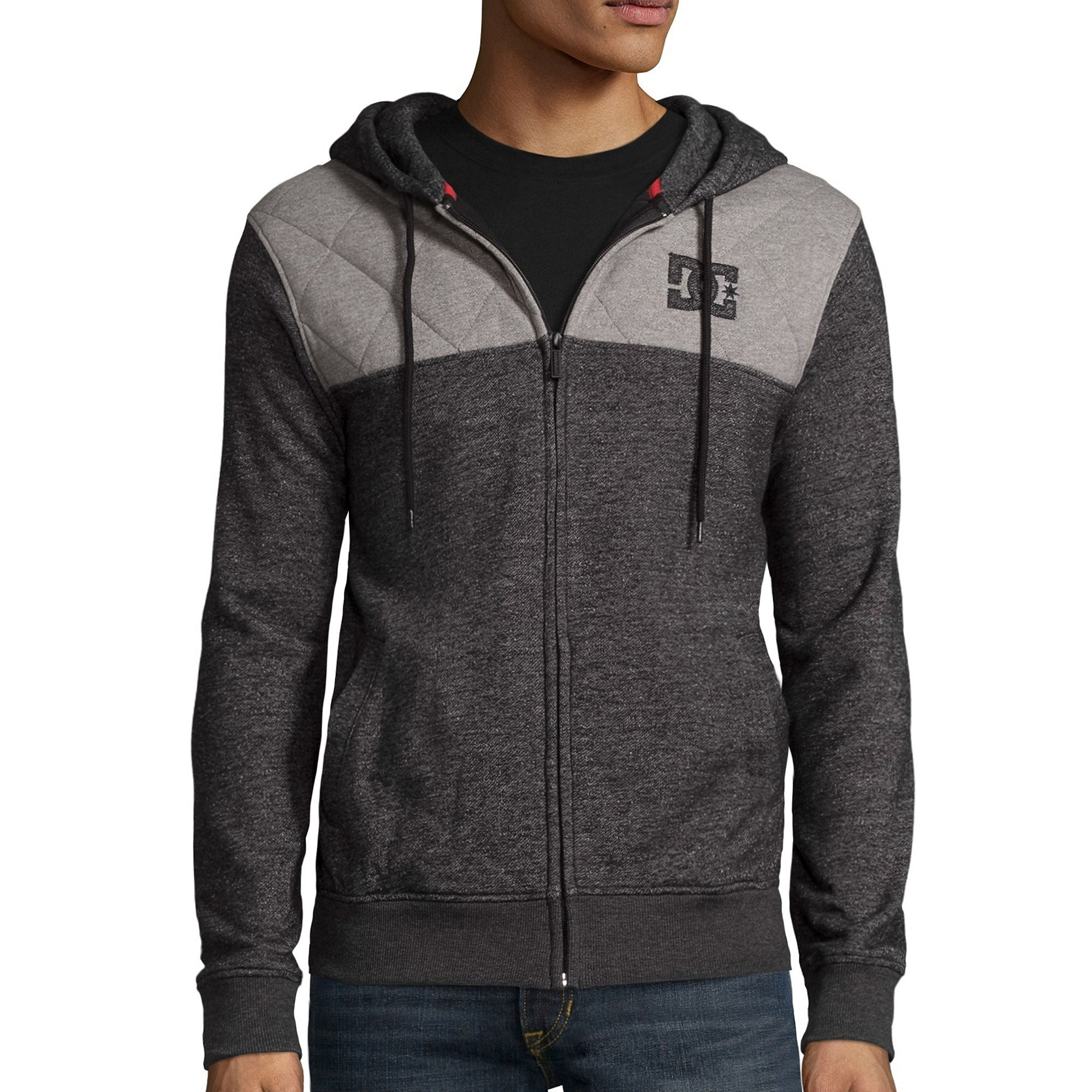 DC Shoes Co. Squadron Long-Sleeve Front-Zip Hoodie