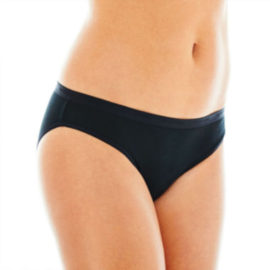 jcpenney.com | Ambrielle® Natural Comfort Tailored Bikini Panties
