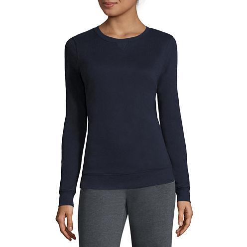 Made for Life™ Long-Sleeve Fleece Crewneck Pullover