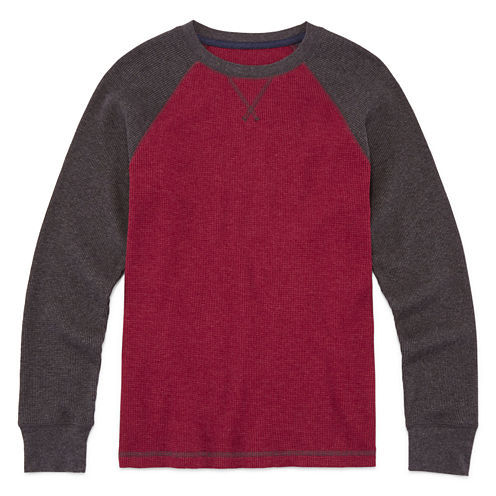 Arizona Long Sleeve Thermal Top - Big Kid Boys