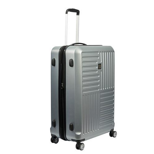 Ful Urban Grid 21 Inch Hardside Luggage Silver