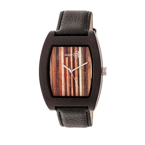 Earth Wood Cedar Unisex Brown Bracelet Watch-Ethew4602