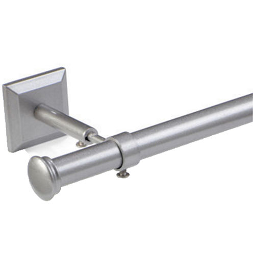 "Studio™ Ceiling-Mount 3/4"" Adjustable Curtain Rod Set"