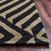 Rizzy Home Gillespie Avenue Collection Hand-TuftedSadie Geometric Area Rug