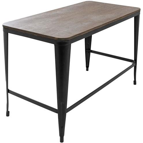 Pia Wood Top Desk