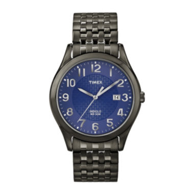 jcpenney.com | Timex® Mens Black & Blue Expansion Band Watch