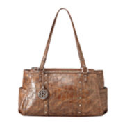 Relic® Heather Croco-Embossed Shoulder Bag