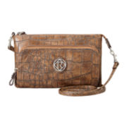 Relic® Heather Double-Zip Crossbody Wallet