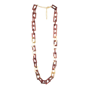 jcpenney.com | Designs by Adina Gold-Tone Two-Tone Chain Necklace